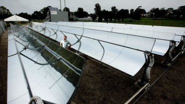 Solar thermal: one of the emerging technologies.