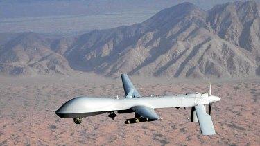 A US predator drone.