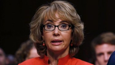 Former US congresswoman Gabrielle Giffords was shot in the head four years ago