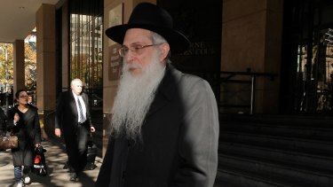 'Unfathomable' that he didn't know ... Yeshivah College teacher Rabbi Abraham Glick.