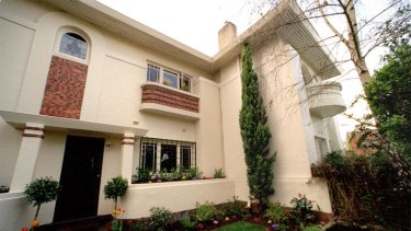 Art-deco maisonette at 2B Seaview Street  Caulfield South.
