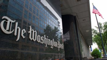 The Washington Post said the Syrian Electronic Army had hacked its website.