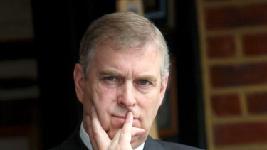 Judgement called into question ... Prince Andrew faces pressure to resign as Britain's rade representative.