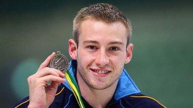 Beijing gold ... the Australian diver Matthew Mitcham.