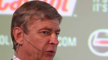 Arsene Wenger ... believes the Socceroos have a 40 per cent chance against Germany