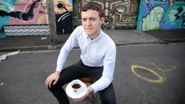 Never bean cheaper: St Ali barista Matt Perger.