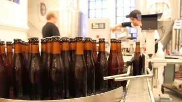 Nogne O's Red Horizon beer.