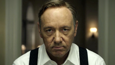 Kevin Spacey as Frank Underwood in Netflix's signature show House of Cards. Slowing growth in the company's home market has some investors worried about its potential outside of it.