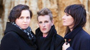 Mesmerising: Liz Stringer, Mia Dyson and Jen Cloher.