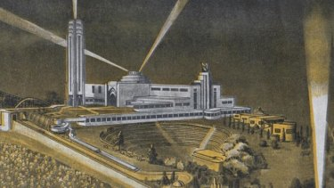 Plans for Brisbane's long lost Luna Park, situated with Cloudland at Bowen Hills.
