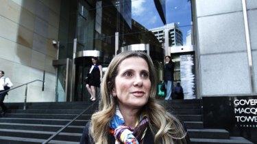 Jackson defends use of 'slush fun': Whistleblower Kathy Jackson.