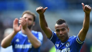 England manager Roy Hodgson described Ashley Cole as the world's best left back in his prime.