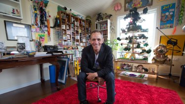 Children's book author Andy Griffiths, who has sold over 7 million books and is the biggest-selling author in the country at home. 12th November 2015. Photo by Jason South.