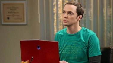 Sheldon Cooper, lead character of <i>The Big Bang Theory</i>.