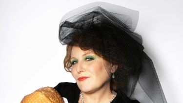 The Ham Funeral: Eliza Logan, who plays Mrs Lusty.