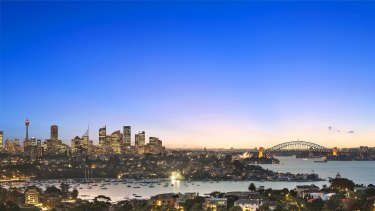 Gravitational shift: Sydney's notional economic centre is further from its CBD than any major city in Australia.