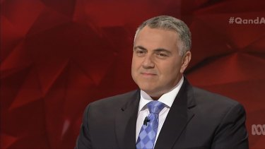 Treasurer Joe Hockey expressed his support on Q&A for a GST exemption for tampons.
