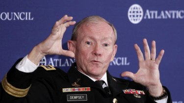 Chairman of the US Joint Chiefs of Staff, General Martin Dempsey.
