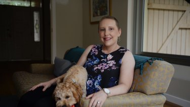 Jessica Braude, 30, is a BRCA2 carrier and will undergo a bilateral mastectomy after her initial treatment for triple negative breast cancer.