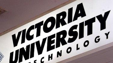 Victoria University is cutting staff.