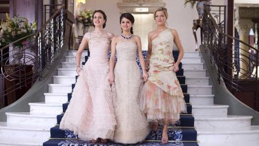 Fusion … Leighton Meester, Selena Gomez and Katie Cassidy in a Cinderella meets Sex and the City tale for teens.