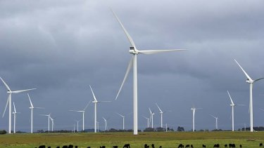 'Safe': Macarthur Wind Farm.