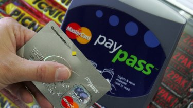 Growth in non-cash payments is accelerating as consumers use contactless cards for small purchases.
