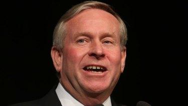 Controversial plan: WA Premier Colin Barnett.