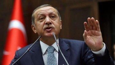 """Twitter, mwitter!"" Turkish Prime Minister Recep Tayyip Erdogan."