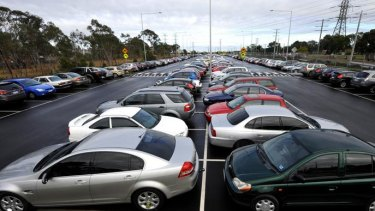Frustrated car drivers vying for parking spots are still not sold on the new station.