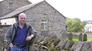 Right at home ... Peter Robinson, in Yorkshire, saw Bronte country as an obvious place to base his fiction.