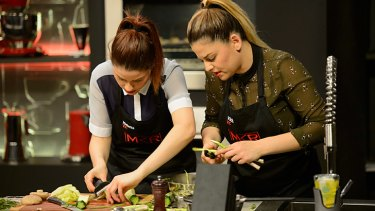 Twinning or losing, <i>MKR</i> twins Helena and Vikki aren't going down without a fight.