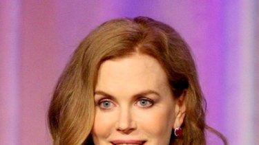 Award-winner ... Nicole Kidman gives maternal credit where it's due.