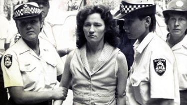 Perth serial killer Catherine Birnie in October 1985.