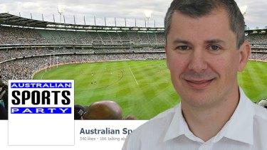 Australian Sports Party's Wayne Dropulich looks set to get a spot in the Senate.