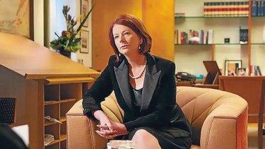 Julia Gillard talks to Michelle Grattan.