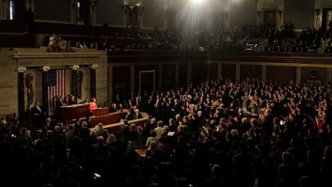 Australia Prime Minister Julia Gillard addressed a Joint Meeting of Congress in Washington DC.