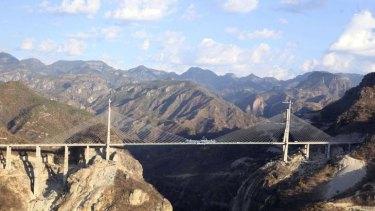 The Baluarte Bridge is officially the highest suspension bridge in the world.