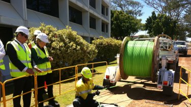 NBN co issued a request for proposals for consultants to provide expert advice and skills for a strategic review.