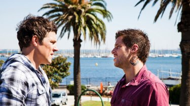 Character reference: Home & Away's Brax and Heath.