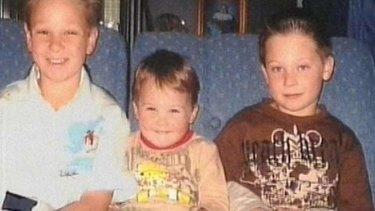 Killer: brothers Jai, Bailey, and Tyler Farquharson.