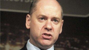The head of Britain's MI5 intelligence agency, Jonathan Evans.