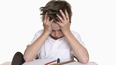 Just plain frustrating... there is no evidence homework is beneficial in early school years.