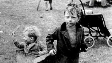 Remember this: A scene from Ken Loach's <i>The Spirit of '45</i>.