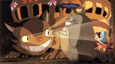 Moving pictures: <i>My Neighbour Totoro</i>.