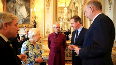 "David Cameron was caught on film telling Queen Elizabeth that Nigeria was ""fantastically corrupt""."