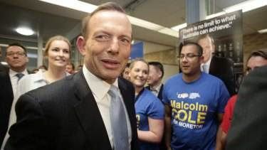 """Tony Abbott: """"The GST can't change without the agreement of the states and territories."""""""