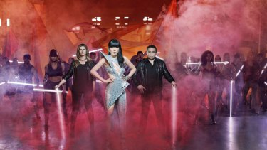 Julia Zemiro, Dami Im and Sam Pang will be competing in the Eurovision Song Contest this year.