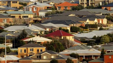 Vulnerable ... Australia's housing market