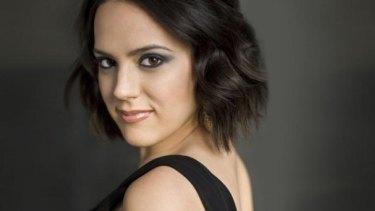 Capturing the energy: Mezzo-soprano Daniela Mack.